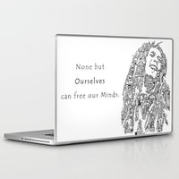 marley Laptop & iPad Skins featuring Marley by Ron Goswami