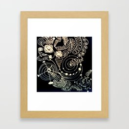 Black Book Series - Endless 01 Framed Art Print