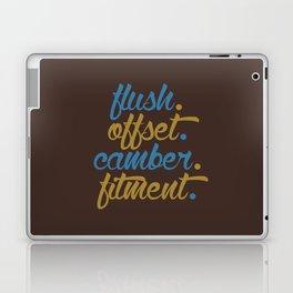 flush offset camber fitment v7 HQvector Laptop & iPad Skin