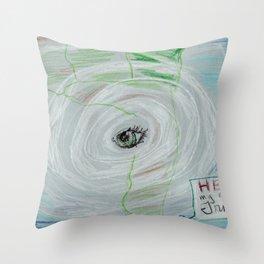 Introducing Irma Throw Pillow