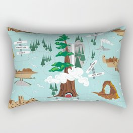 National Parks Rectangular Pillow