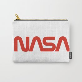 """The NASA """"Worm"""" Logo Carry-All Pouch"""