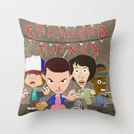 STRANGER THINGSS Throw Pillow