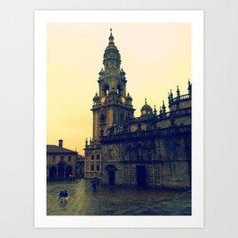 Plaza Quintana Art Print