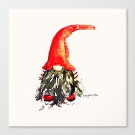 Christmas Swedish Gnome Canvas Print