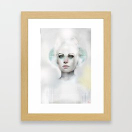 Beyond Magnetic Saturn Framed Art Print