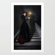Follow Art Print