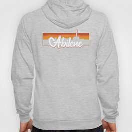 Vintage Abilene Texas Sunset Skyline T-Shirt Hoody