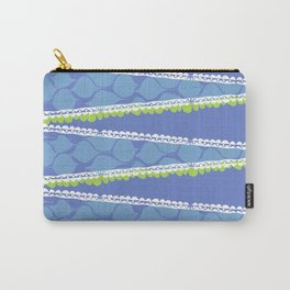 Zig Zag Blues Carry-All Pouch