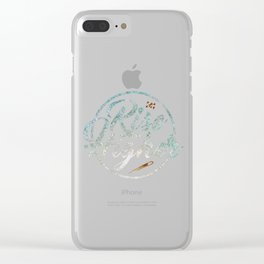 Rise Higher Shooting Star Clear iPhone Case