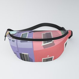 Burano houses Fanny Pack