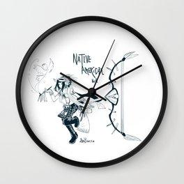 SMITE - Native American Neith Wall Clock