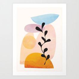 Abstract Shapes14 Art Print