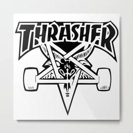Thrasher Metal Print
