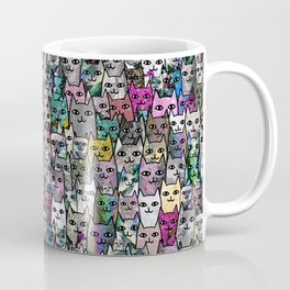 Gemstone Cats CYMK Coffee Mug