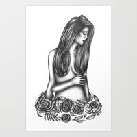 tarot Art Prints featuring Tarot by Amy Brereton