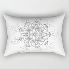 mandala art - peace Rectangular Pillow