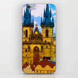 Church Our Lady of the Tyn Prague iPhone Skin