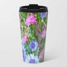 Cornflower Party Travel Mug