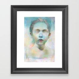 Open the eyes Framed Art Print