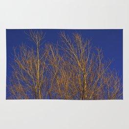 Glimmering Golden Willow Rug