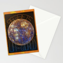 regrets / soon as we land / off-world Stationery Cards