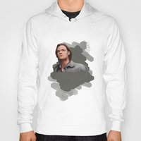 sam winchester Hoodies featuring Sam Winchester - Supernatural by KanaHyde