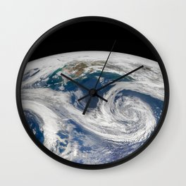 Springtime in the Gulf of Alaska Wall Clock