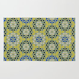 Flower of Life Pattern 28 Rug