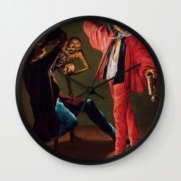 "Judith Leyster ""The Last Drop (The Gay Cavalier)"" Wall Clock"