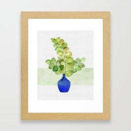 Fresh Eucalyptus Framed Art Print
