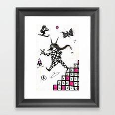 Go ! Framed Art Print