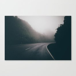 Costa Rica Fog Canvas Print