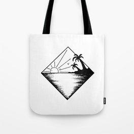 Triangle paradis 2 Tote Bag
