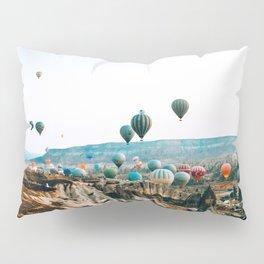 Hot Air Rises | Cappadocia, Turkey Pillow Sham
