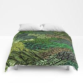 Leaf Cluster Comforters