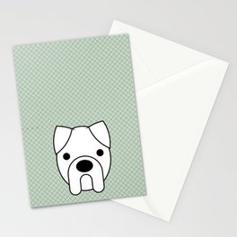 Pop Dog Boxer Stationery Cards