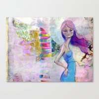 jane davenport Canvas Prints featuring Perfect Little by Jane Davenport by Jane Davenport