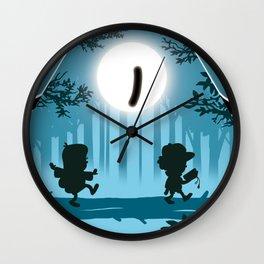 Bill is watching you Wall Clock