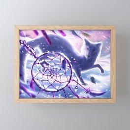 Winter Chase Framed Mini Art Print