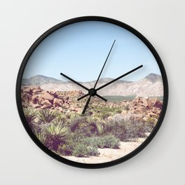 Joshua Tree, No. 2 Wall Clock