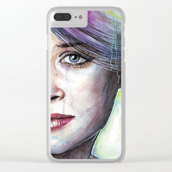Beautiful Eyes Clear iPhone Case