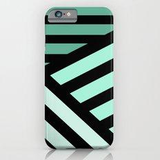 STRIPED {MINT} iPhone 6s Slim Case