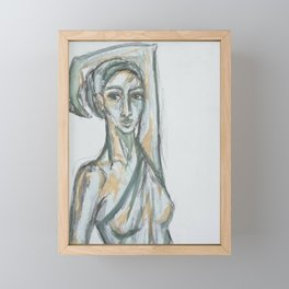Athena Framed Mini Art Print