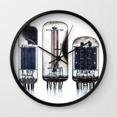 Vintage  Vacuum Tubes Wall Clock