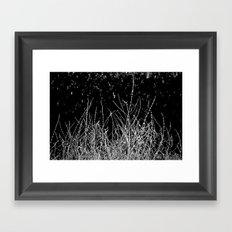 SAGE SKELETON Framed Art Print