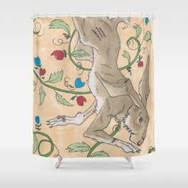 Spiel Mit Mir: Kaninchen Shower Curtain