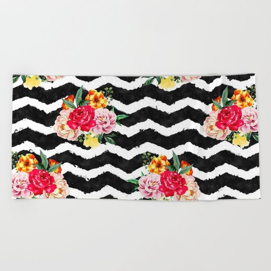 The Law is a Lady #prints #society6 Beach Towel
