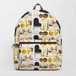 Jazz instruments Backpack