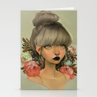 mini Stationery Cards featuring ambrosial by loish